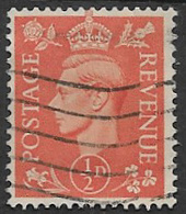 GB SG503Wi 1951 Definitive ½d Inverted Watermark Good/fine Used [40/32401/25D] - 1902-1951 (Kings)