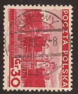 POLAND. POSTMARK PULAWY. 30g USED - 1919-1939 Republic