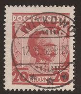 POLAND. POSTMARK WITKOWO. 20gr USED - 1919-1939 Republic