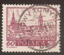 POLAND. POSTMARK NOWY TOMYSL. 60gr USED - 1919-1939 Republic