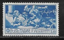 Italy Scott # 245 Used Ferrucci, 1930 - 1900-44 Vittorio Emanuele III