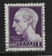 Italy Scott # 455 Used Caesar, 1945 - 5. 1944-46 Lieutenance & Umberto II