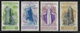 Italy Scott # 489-92 MNH St. Catherine, 1948, CV$140.00 - 1946-60: Mint/hinged