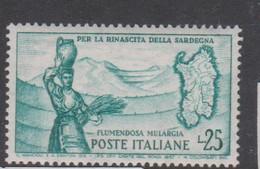 Italy Republic S 826 1958 Flumendosa,mint Never  Hinged - 1946-60: Mint/hinged