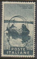 Italy Republic S 835 Birth Centenary Of Giovanni Segantini,mint Never  Hinged - 1946-60: Mint/hinged