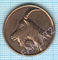 UKRAINE / Token / New 2015 Year. Year Of The Goat On The Eastern Calendar. Animal. - Other