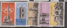 Italy Republic S 861-865 1959 Pre-Olympic Games,mint Never  Hinged - 6. 1946-.. Republic