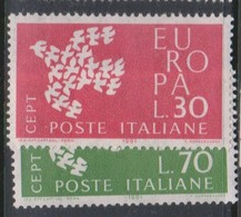Italy Republic S 932-933 1961 Europa,mint Never  Hinged - 1961-70: Mint/hinged
