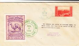 U.S. / California / Camel Express Cinderellas - Postal History