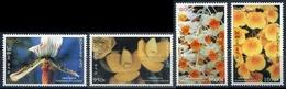 Laos 1998  YT 1327-30 ; Mi# 1639-42 **  MNH  Flowers, Fleurs - Laos