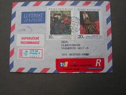 CSR Nice Cv., 1998 To Argentina - Briefe U. Dokumente