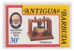 Alexander Graham Bell, Telephone Inventor, Transmitor Telecom Physics MNH - Telecom
