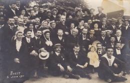 FINISTERE BREST CARTE PHOTO FETE 5 JUIN 1911 - Brest
