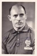 ROGER MARCHE EQUIPE DE FRANCE 1959 (DEDICACE) - Calcio
