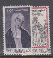 Italy Republic S 940-941 1962 St Catherine,mint Never  Hinged - 1961-70: Mint/hinged
