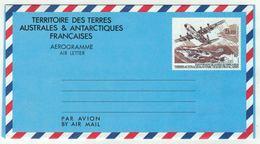 T.A.A.F. // 1993 //  Aviation // Aérogramme Y&T No. 1 - Poste Aérienne