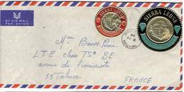 18617 - TP Ronds Pour La France - Sierra Leone (1961-...)