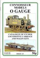 Catalogue CONNOISSEUR Models 2005-06 Models Kits O Gauge - Boeken En Tijdschriften