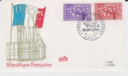 France 1962 FDC Europa CEPT (G62-67) - Europa-CEPT
