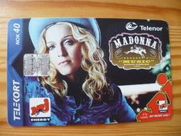 Phonecard Norway - Madonna - Norway
