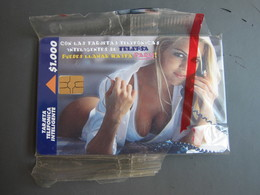 TelePSA Chip Card, Beauty In Phone, Mint In Blister - Colombia