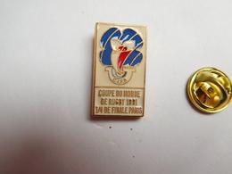 Beau Pin's , Rugby , Coupe Du Monde De Rugby 1991 , 1/4 De Finale Paris - Rugby