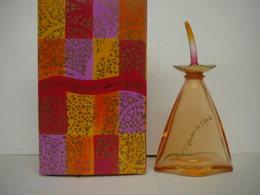 """LE MONDE EN PARFUM:"""" POUR L'AMOUR DE L'INDE"""" FLACON VIDE + BOITE   LIRE ET VOIR!! - Miniaturas De Perfumes"""