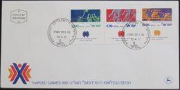 ISRAEL 1975 Mi-Nr. 639/41 FDC - FDC