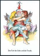 C6477 - TOP Knut Weise Humor Scherzkarte - Weihnachten Weihnachtsmann Engel Angel - Humour
