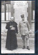 MILITARIA - Personnages - Général Pau Et Mg. Mariettan Abbé De St.Maurice - Personen