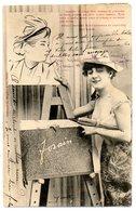 CPA    A. BERGERET     1903         FEMME  FORAIN - Bergeret