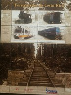 O) 2010 COSTA RICA, RAILWAYS -TRAIN DIESEL - AEG - APOLO. -FERREA LINE. MNH - Costa Rica