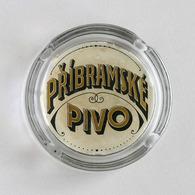 Ancien Cendrier Publicitaire Brasserie Tchèque, Popelník Pribramské Pivo, Bière - Cendriers