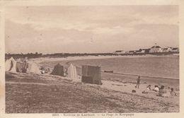Cp , 56 , LORIENT , Environs , La Plage De Kerpape - Lorient