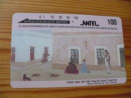 Phonecard Uruguay - Art, Painting - Uruguay
