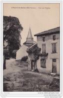 87) PEYRAT DE BELLAC (HAUTE VIENNE) VUE SUR L ' EGLISE - Autres Communes