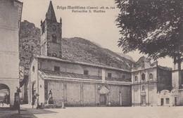 BRIGA MARITTIMA-CUNEO-PARROCCHIA SAN MARTINO-CARTOLINA NON VIAGGIATA  ANNO 1915-925 - Cuneo