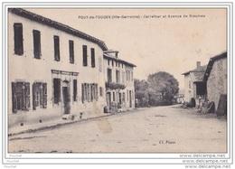 31) Pouy De Touges (HauteGaronne) Carrefour Et Avenue De Rieumes - Francia