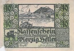 40 Hl. Notgeld Hainburg Österreich VG/G (IV) - Oesterreich