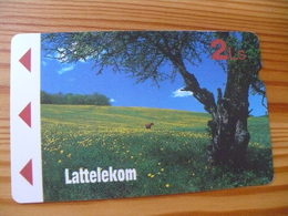 Phonecard Latvia - Magnetic - Letland