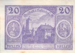 20 Hl. Notgeld Hofkirchen Österreich VF/F (III) - Oesterreich