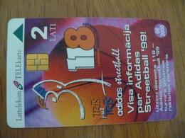 Phonecard Latvia - Basketball - Letland