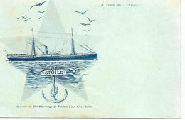 L ETOILE  A Bord De L'ETOILE....   SOUVENIR DU 27e PELERINAGE AUX LIEUX SAINTS   RARE   Trés Bon état - Dampfer