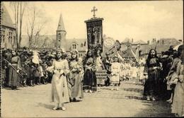 Cp Bruges Brügge Flandern Westflandern, Procession Du Saint Sang - Belgique