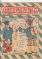 Rare Revue L'épatant 15 Septembre 1910 Avec Bd Des Pieds Nickelés - Otras Revistas