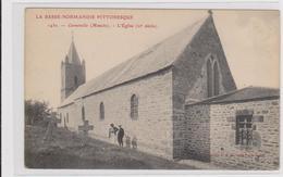 CARTE POSTALE   CARNEVILLE 50  L'église - France