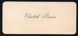 C6505 - Elisabeth Priesner - Visitenkarte - Visitenkarten