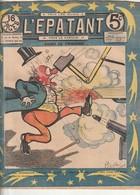 Rare Revue L'épatant 1 Septembre 1910 Avec Bd Des Pieds Nickelés - Otras Revistas