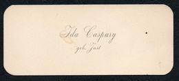 C4813 - Ida Caspary Geb. Just - Visitenkarte - Visitenkarten