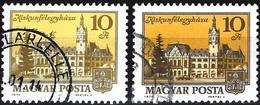 Hungary 1974 - Mi 3002 - YT 2412 ( Town : Kiskunfélegyháza ) Two Shades Of Color - Hungary